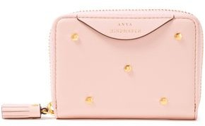 Anya Hindmarch Hexagon Studded Leather Wallet