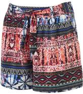 French Laundry Women's French Laundry Print Pleated Soft Shorts