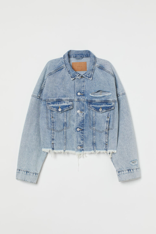 Thumbnail for your product : H&M Boxy Denim Jacket - Blue