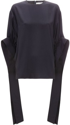 J.W.Anderson ruched sleeve top