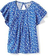 Old Navy Relaxed Ruffle-Sleeve Top for Girls