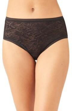 Wacoal Women's Net Effect Jacquard Lace Hipster Underwear