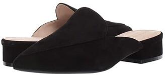 Cole Haan Piper Mule (Black Suede) Women's Shoes