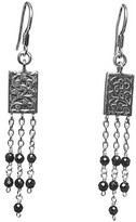Lois Hill Silver Drop Earrings.