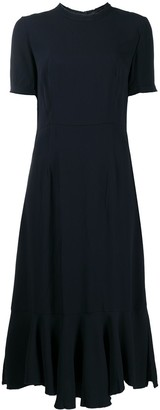 Marni Peplum-Hem Midi Dress