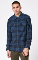 RVCA Standoff Plaid Flannel Long Sleeve Button Up Shirt