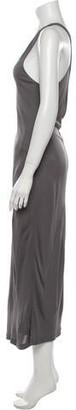 alexanderwang.t Scoop Neck Long Dress w/ Tags Grey