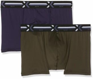 Dim Men's X-temp Active Boxer X2 Shorts