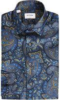Duchamp Tailored-fit Paisley-print Silk Shirt