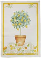 Sur La Table Lemon Tree Linen Kitchen Towel