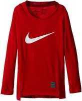 Nike Cool HBR Comp Long Sleeve (Little Kids/Big Kids)