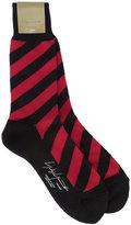 Yohji Yamamoto striped socks