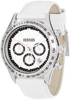 Versus By Versace Women's SGC010012 Cosmopolitan Round Stainless Steel White Dial Chronograph Watch