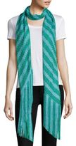 Missoni Fringed Colorblock Scarf