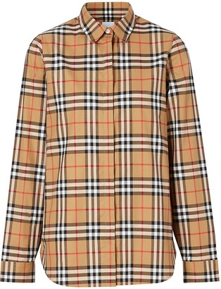 Burberry Vintage Check print shirt
