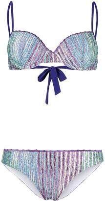Missoni Mare Signature Stripe-Knit Bikini