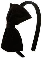 Capelli New York Velvet Bow Headband