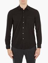 Our Legacy Black Raw Silk Shirt