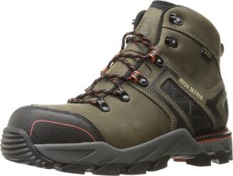 "Irish Setter Work Men's Crosby Nano Toe Waterproof Puncture-Resistant 6"" Boot Gray 11 2E US"