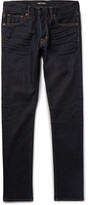 Tom Ford - Slim-fit Washed Stretch-denim Jeans