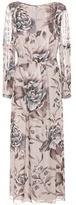 Burberry Nina Printed Silk Dress