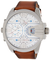 Diesel Men's Uber Chief Leather Watch
