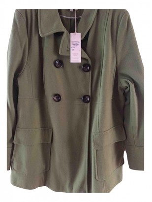 John Rocha Green Wool Coat for Women