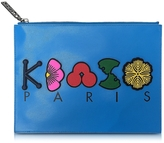 Kenzo Multicolor Leather Pouch