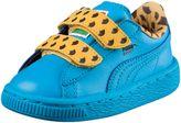 Puma Sesame Street® Cookie Monster Basket Mono Kids Sneakers