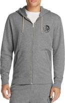Diesel MO-DBRANDONZ Zip-Up Hoodie Sweatshirt