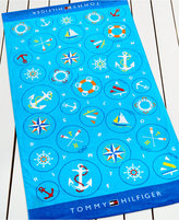 Tommy Hilfiger Nautical Icons Beach Towel