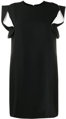 Givenchy ruffle sleeve dress