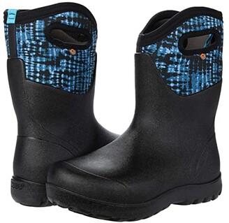Bogs Neo Classic Mid Tie-Dye (Blue Multi) Women's Boots