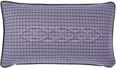 Yves Delorme Gabriel Bed Cushion Cover - Purple