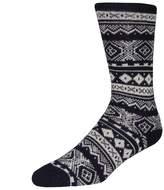 Barbour Socks - Fairisle Navy