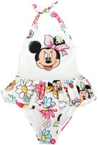 MonnaLisa Minnie Mouse swimsuit - kids - Polyester/Spandex/Elastane - 9 yrs