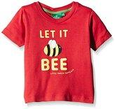Little Green Radicals Boy's Let It Bee T-Shirt