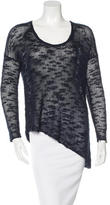 Helmut Lang Asymmetrical Silk Sweater w/ Tags