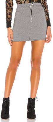 superdown Andy Zip Mini Skirt