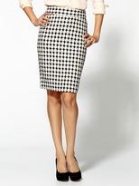 + Larkin Patterned Pencil Skirt