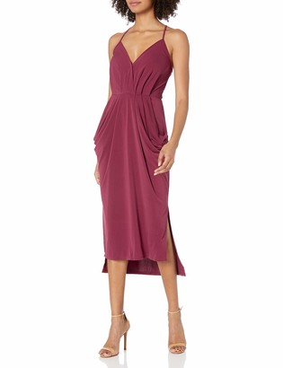 BCBGeneration Women's Draped Cocktail Dress