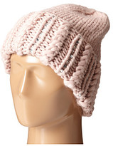 San Diego Hat Company KNH3354 Chunky Yarn Beanie with Hand Stitched Faux Gems On The Cuff
