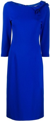 Goat Henriette bow embellished dress