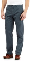 Maine New England Big And Tall Dark Turquoise Tailored Chinos