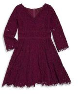 Ella Moss Girl's Gwen Lace Dress