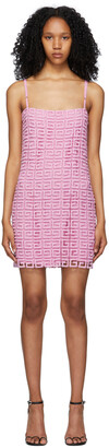 Givenchy Pink Guipure 4G Dress