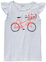 Crazy 8 Bicycle Stripe Tee