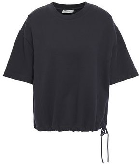 Vince French Cotton-terry Top