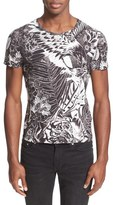 Just Cavalli 'Jungle Tattoo' Graphic T-Shirt