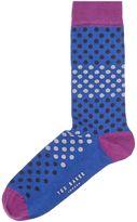 Ted Baker Helium Block Spot Sock
